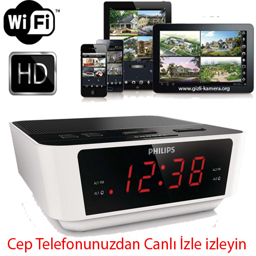 Philips Wİ-Fİ İP Gizli Kamera