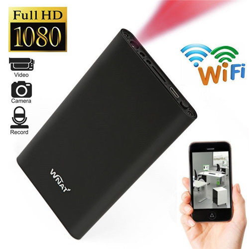 H8 Power Bank Wİ-Fİ Kamera